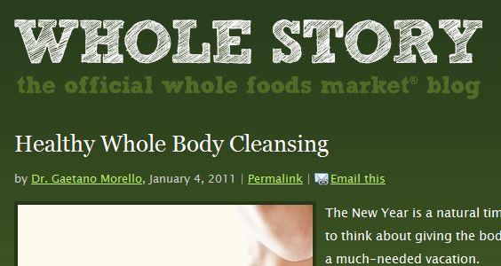 wholefoods market do they practice what Repository citation pearson, kristin l, whole foods market ™ case study: leadership and employee retention (2012) mba student scholarship.