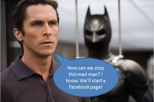 batman facebook page