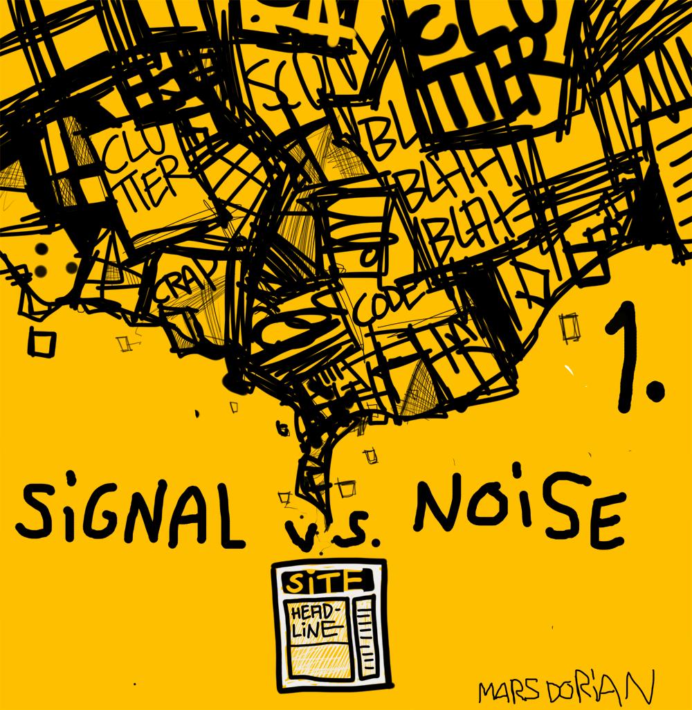 social media signal versus noise