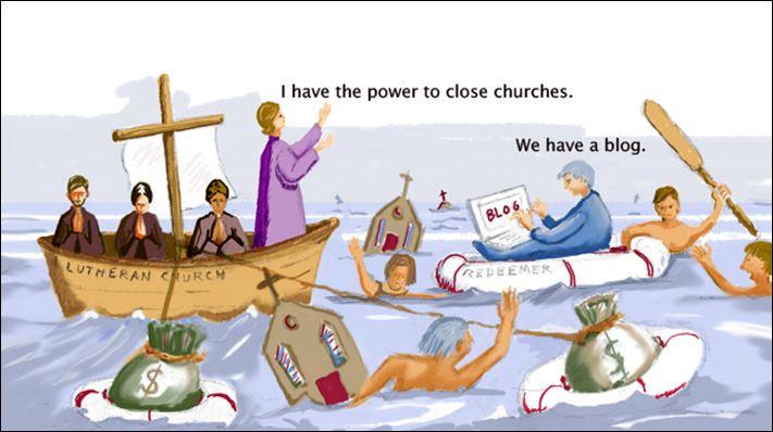 social media and the church
