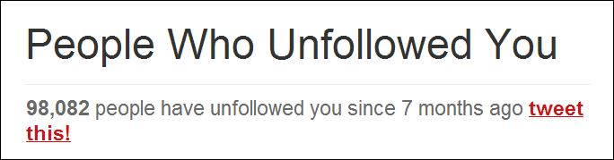 unfollowed me