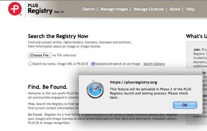 PLUS-Registry