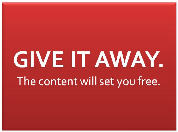 give away content