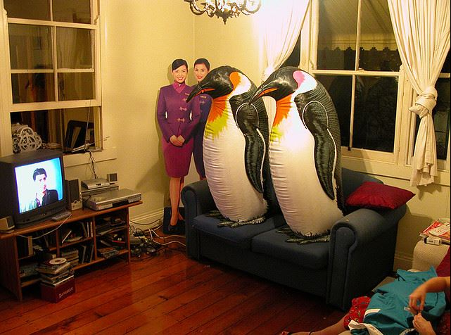 A USC researcher also concludes that inflatable penguins will consume 68% more content than humans by 2016.