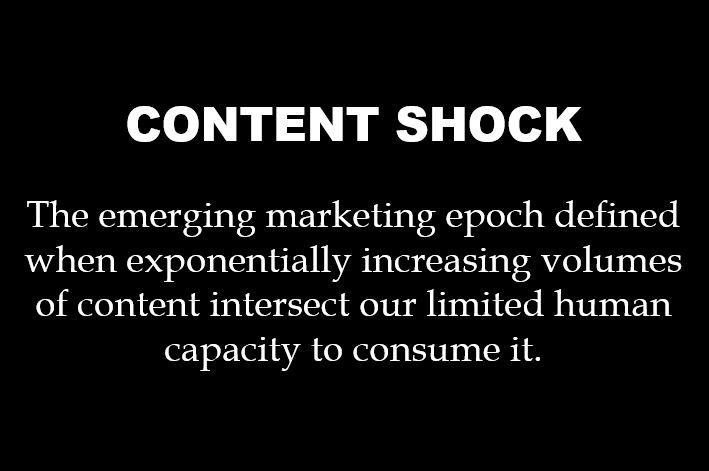 Content Shock definition