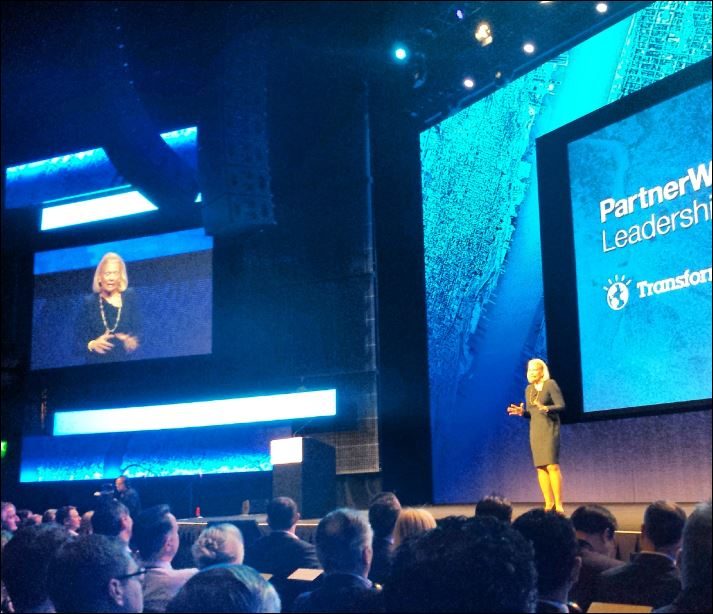 rometty at ibm partner world 2014
