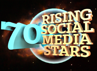 70 rising social media stars