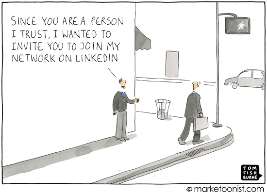 5 Reasons LinkedIn Has Lost Its Luster - Schaefer Marketing Solutions: We Help Businesses {grow}