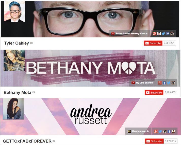 youtube stars