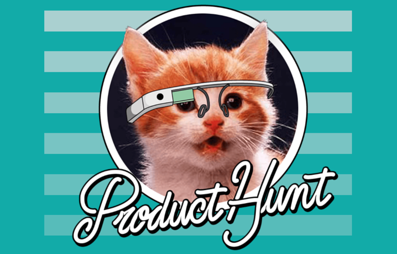 Product Hunt's Glasshole Kitty