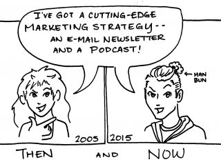 Marketing Then and Now