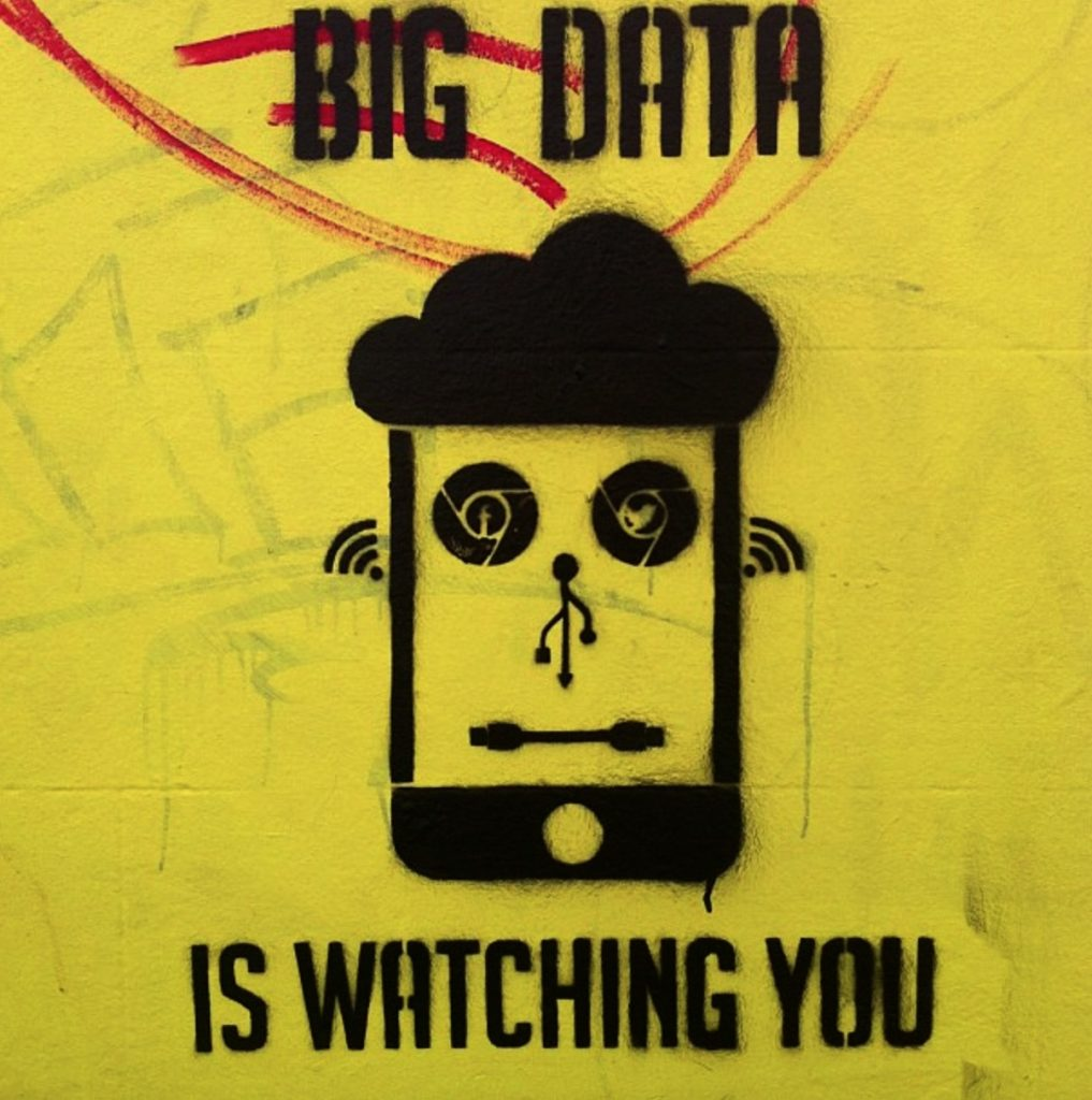 big data is watching you copy