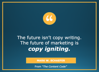 Copy igniting