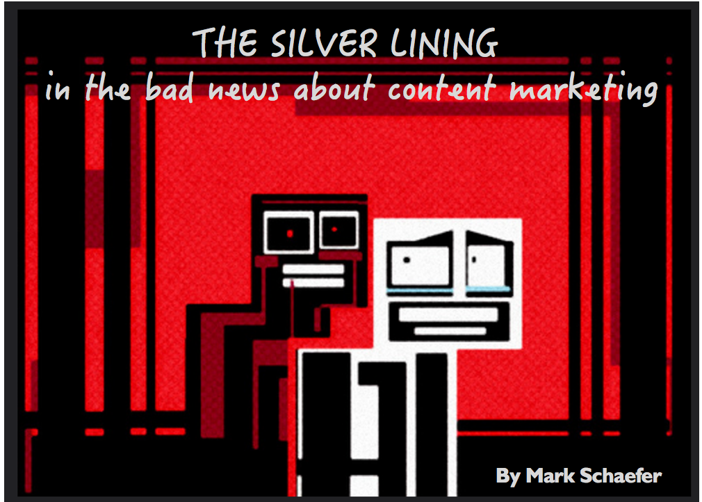 bad news about content marketing