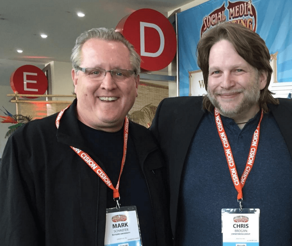 Mark Schaefer and Chris Brogan
