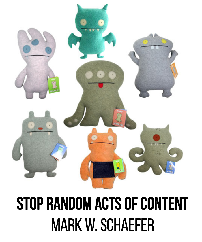 random acts of content