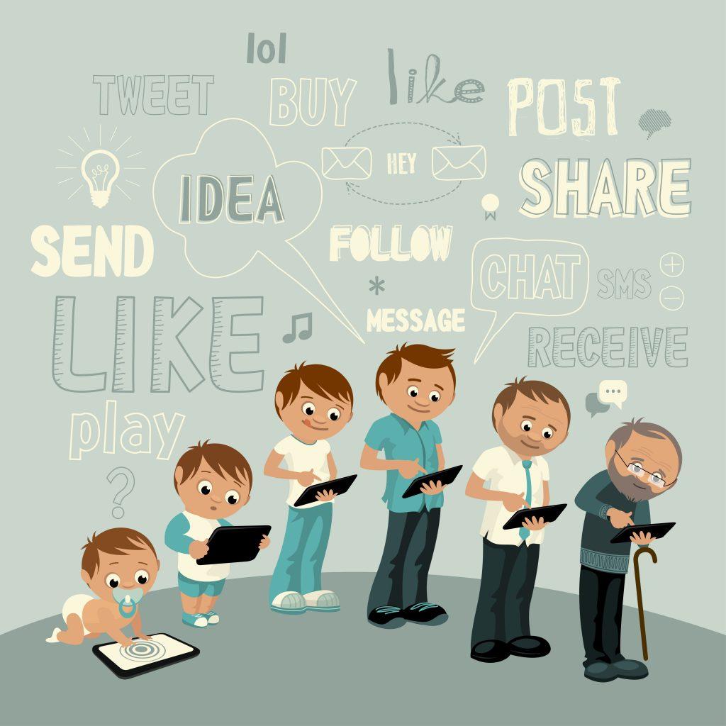 Generational Social Media Preferences