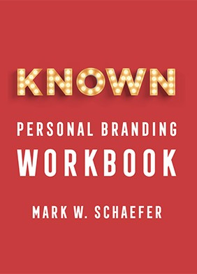 KNOWN Workbook - The handbook for building and unleashing your personal brand in the digital age