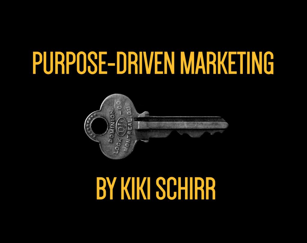 purpose-driven marketing