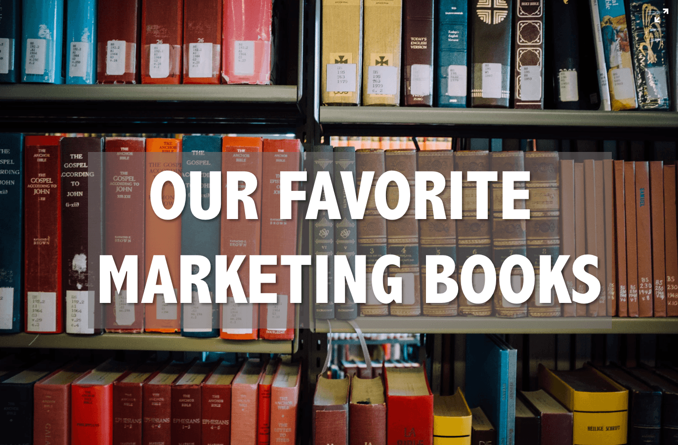 A discussion on our favorite recent marketing books